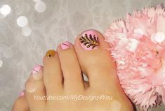 Pink toenail art design. Pedicure ideas. #mydesigns4you #nailart #pedicure Toe Nail Art, Toe Nails, Short Styles, Long Hair Styles, Toenail Art Designs, Pink Und Gold, Look In The Mirror, Grow Hair, Up Hairstyles