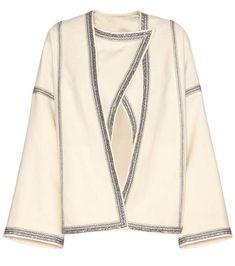 ISABEL MARANT Benett Wool Jacket. #isabelmarant #cloth #jackets