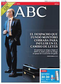 La portada de ABC del jueves 29 de junio
