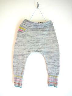 Free knitting pattern baby harem pants