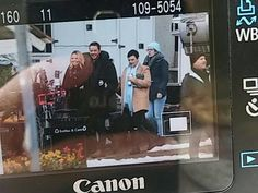 Once Upon A Time filming 6x18 Jennifer Morrison Josh Dallas and Ginnifer Goodwin