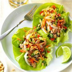 Vietnamese Pork Lettuce Wraps Recipe