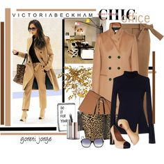 Office Attire by goreti on Polyvore featuring Victoria Beckham, Chanel, Pier 1 Imports, StreetStyle, MyStyle, celebstyle and CelebrityStyle