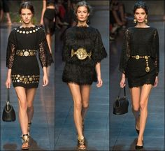 Dolce Gabbana Spring Summer 2014 Milan Fashion Week 17