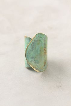 aged leaf ring. Love this. Want this.