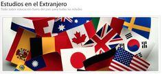 Directorio para Estudios en el Extranjero