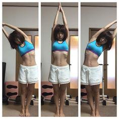 ウエスト-6cmトレーニング♪体をツンツン伸ばすだけ ツンツン体操が話題に!朝夜2分だけなので、ダイエットが苦手な人や続かなかった人でもきっと大丈夫♡お腹痩せに効果抜群のツンツン体操でキレイなくびれを手に入れよう♡