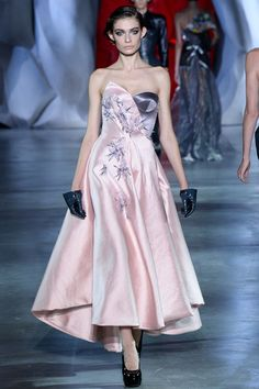 Ulyana Sergeenko Fall 2014 Couture Collection Slideshow on Style.com
