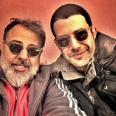 Turkish actors Hamdi Alkan and Keremcem wearing MIDA by EPOS eyewear #epos #eyewear #celebs