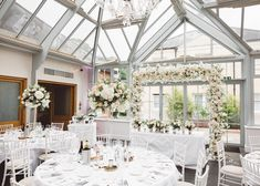 A luxury July wedding at Botelys Mansion in Surrey celebrated by Rebecca and Peter. Floral Wedding Decorations, Wedding Flowers, Table Decorations, July Wedding, Wedding Receptions, Surrey, Weddingideas, Real Weddings, Table Settings