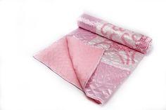 Silk Flower Printing Quilt