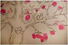 lesmoineauxdelamariee arbres a empreinte - Recherche Google