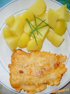 Rybu necháme mírně rozmrznout,nasolíme ji a mezitím si připravíme těstíčko na… Macaroni And Cheese, Pineapple, Fruit, Ethnic Recipes, Food, Diet, Mac And Cheese, Pine Apple, Essen