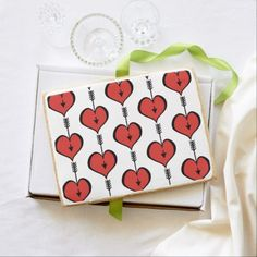 Loving You Heart red Jumbo Shortbread Cookie - black gifts unique cool diy customize personalize