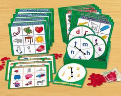 Beginning Sounds 3-In-A-Row Game Set