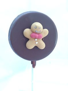 Gingerbread Man Lolly!
