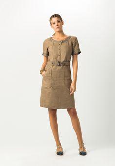 Un vestido ligero: nuestra propuesta para tu outfit de calle hoy: #Look 10 del #LookBook PV14 de Primavera - Verano #Caramelo.