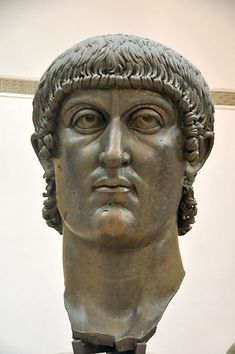 This is the head of Constantine the Great.  He converted empire to Christianity.  Establishes freedom of religion.