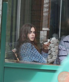 "love rosie lily collins  | Lily Collins Lily filming ""Love, Rosie"" in Dublin, Ireland (27th May ..."