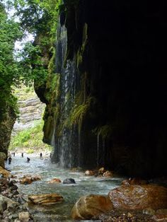 "Canyoning - Caving: Krikellopotamos  -""Always raining"" gorge"