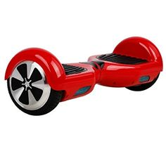 Geekercity 2015 Mini Self Balancing Scooters Smart Balance Wheel Drifting Board Electric Personal Adult Transporter Unicycle Monocycle Two Wheels with LED Light (Red)
