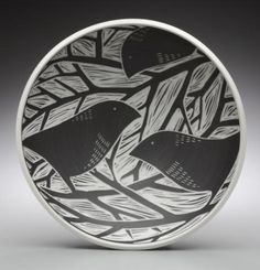 laurie landry pottery - totems on her site are wonderful