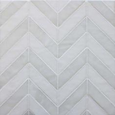 chevron or herringbone -Caprio Veil_White2