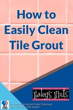 Dirty tile grout is a tough clean requiring lots of hard work, we'll show you how to effortlessly clean all your tile grout to a sparkle like new shine easily.