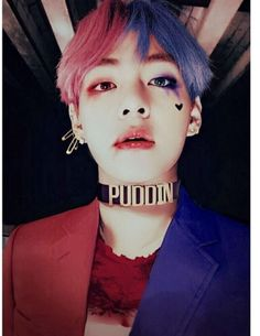 Bts taehyung looks so #harleyqueen    #BTS#V#taehyung#nickname#taetae#防彈少年團#btsarmy#followme#follow4follow#btsarmyforever