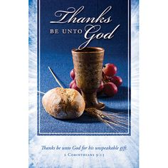 Bulletin-Thanks Be To God (Pkg-100)