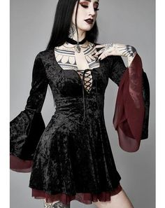 9cb8187192bb Widow - gothic black clothing