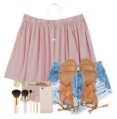 """""""☀️"""" by moonhauntedmyocean ❤ liked on Polyvore featuring MANGO, Levi's, Billabong, AERIN, Black Apple, Too Faced Cosmetics, Kendra Scott, Initial Reaction and reesepieces"""