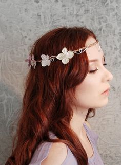 Tiara Floral de inspiración Celta