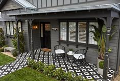 The Block Facade Reveals Pergola With Roof, Pergola Shade, Patio Roof, Gazebo, The Block, Modern Front Door, Front Door Decor, House Paint Exterior, Exterior House Colors