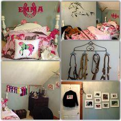 girls+bedrooms+horses | Horse Crazy Bedroom