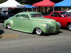 Chopped 1941 Plymouth