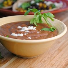 Crock Pot Refried Beans {vegan, gluten-free}