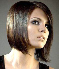 Layered bob hairstyles 2012 are best for thin and straight hair Hair Bob Hairstyles For Round Face, Short Bob Haircuts, Short Hairstyles For Women, Medium Haircuts, Fall Hairstyles, Haircut Medium, Straight Hairstyles, Latest Hairstyles, Haircut Bob