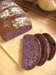 Purple Carrot Sourdough