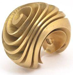 Bijou de main Spirale pour index de la main gauche, 1983 Henri Gargat