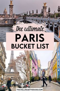 This is the ultimate Paris bucket list + tons of tips for your Paris trip. This long and helpful guide will help you plan your trip to Paris! What to do in Paris | Best things to do in Paris | Paris itinerary | Paris bucket list | Pretty places in Paris | Beautiful Paris photo spots | #paris