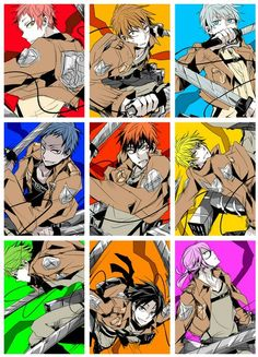 knb crossover to attack on titan