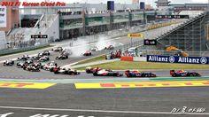2012 F1 Korean Grand Prix, Main Race - Start!