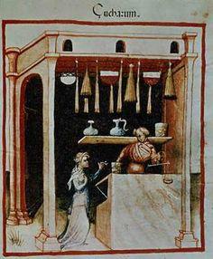 14. Jahrhundert, Hausbuch d. Cerruti / Zucker/ 14.Jh.