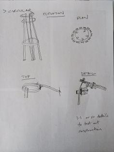 circular model constructional detail drawings