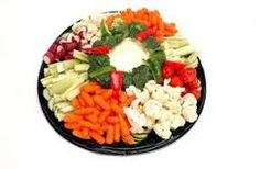 how to arrange food trays