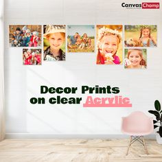 Print your photos on Acrylic with 3 easy steps. Acrylic printing displays your pictures with best quality. Transform your space with custom acrylic prints at CanvasChamp. Acrylic Photo Prints, Print Your Photos, Acrylic Display, Your Space, Clear Acrylic, Modern Art, Photo Wall, Frame, Pictures