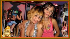 Nightlife Soi 6 Beach road Pattaya Thailand. Girls and Ladyboys waiting ...