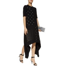 Stella McCartney Carlee Embellished Asymmetric Dress | Harrods.com