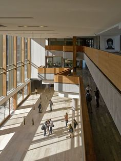 Richard Ivey Building for the Ivey Business School at Western University, the goal was to create an environment that would enable the school to be competitive on the global stage while also celebrating the university's Gothic architecture and heritage, and adding a signature building to the City of London. #businessschool
